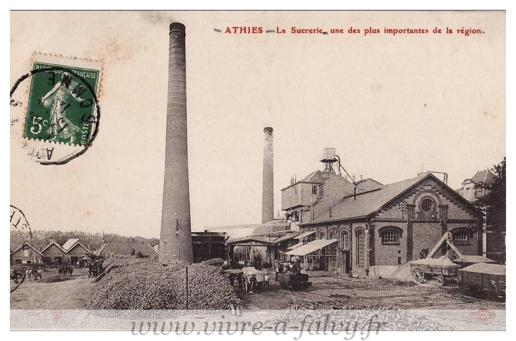 ATHIES - La sucrerie