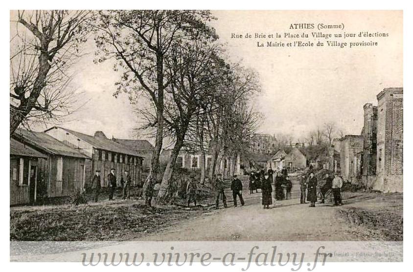ATHIES - Rue de Brie