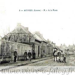 ATHIES - Rue de la Poste
