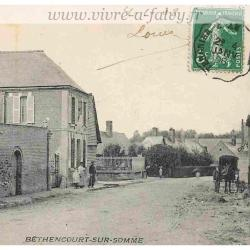 Bethencourt sur Somme