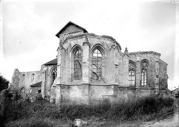 Chapelle du midi et nef