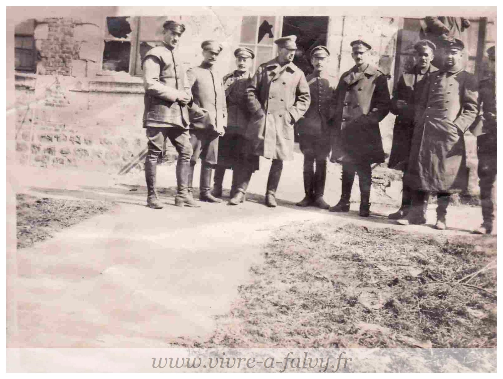Cizancourt - Quartier Allemand Mars 1918