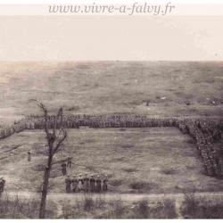 Cizancourt - Revue Troupe Allemande Mars 1918