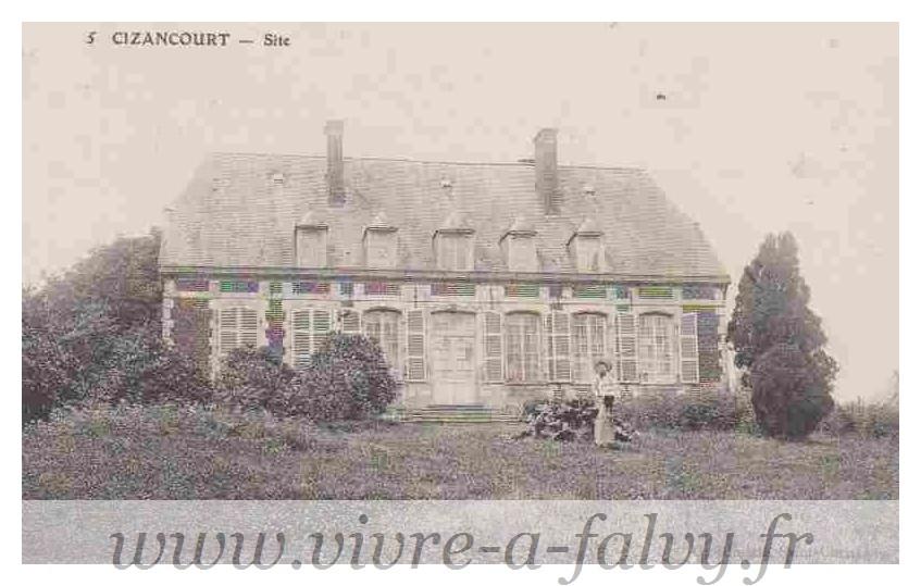Cizancourt - Site