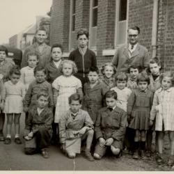 Ecole Falvy CM2 en 1956