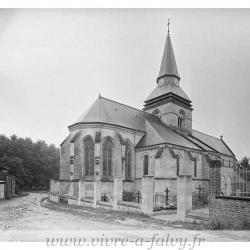 Eglise falvy ensemble nord est