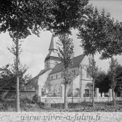 Eglise falvy ensemble nord ouest