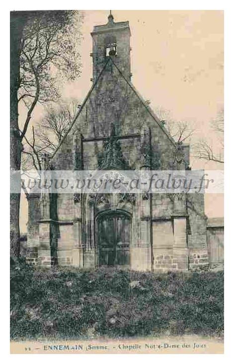 Ennemain - Chapelle de Notre Dame des joies