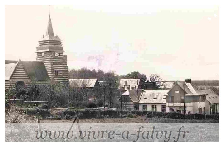 Ennemain - L'église