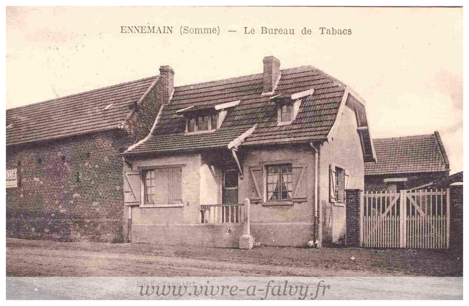 Ennemain - Le Bureau des tabacs