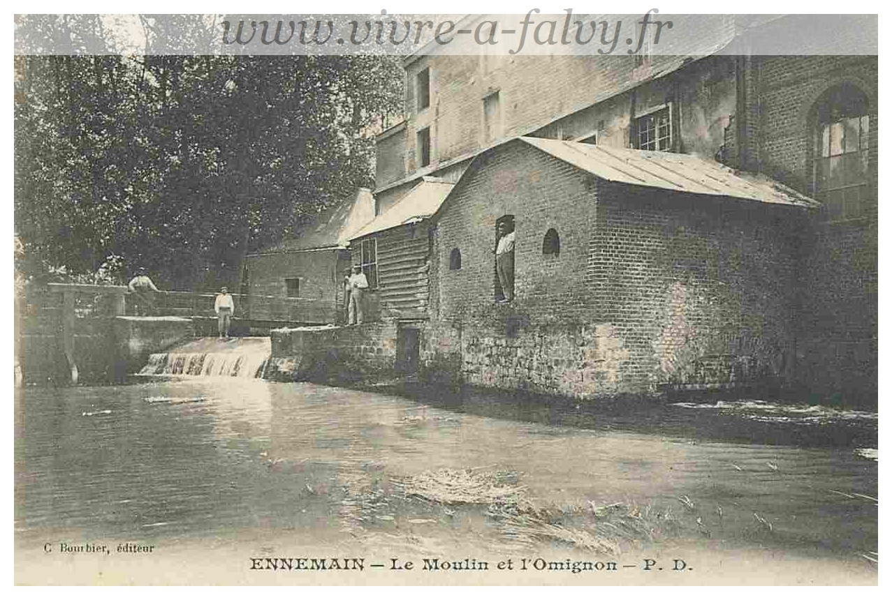 Ennemain - Le Moulin et l'Omignon