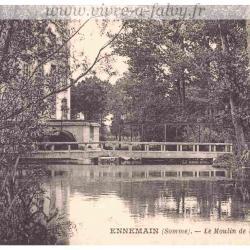 Ennemain - Le Moulin et l'Omignon