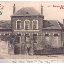Ennemain - Mairie Ecole
