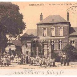 Ennemain - Mairie Ecole