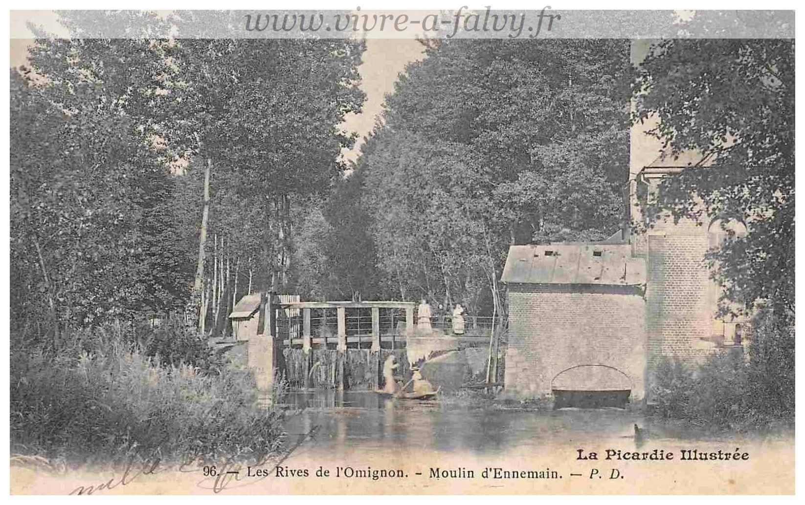 Ennemain - Moulin Rives de l'Omigon