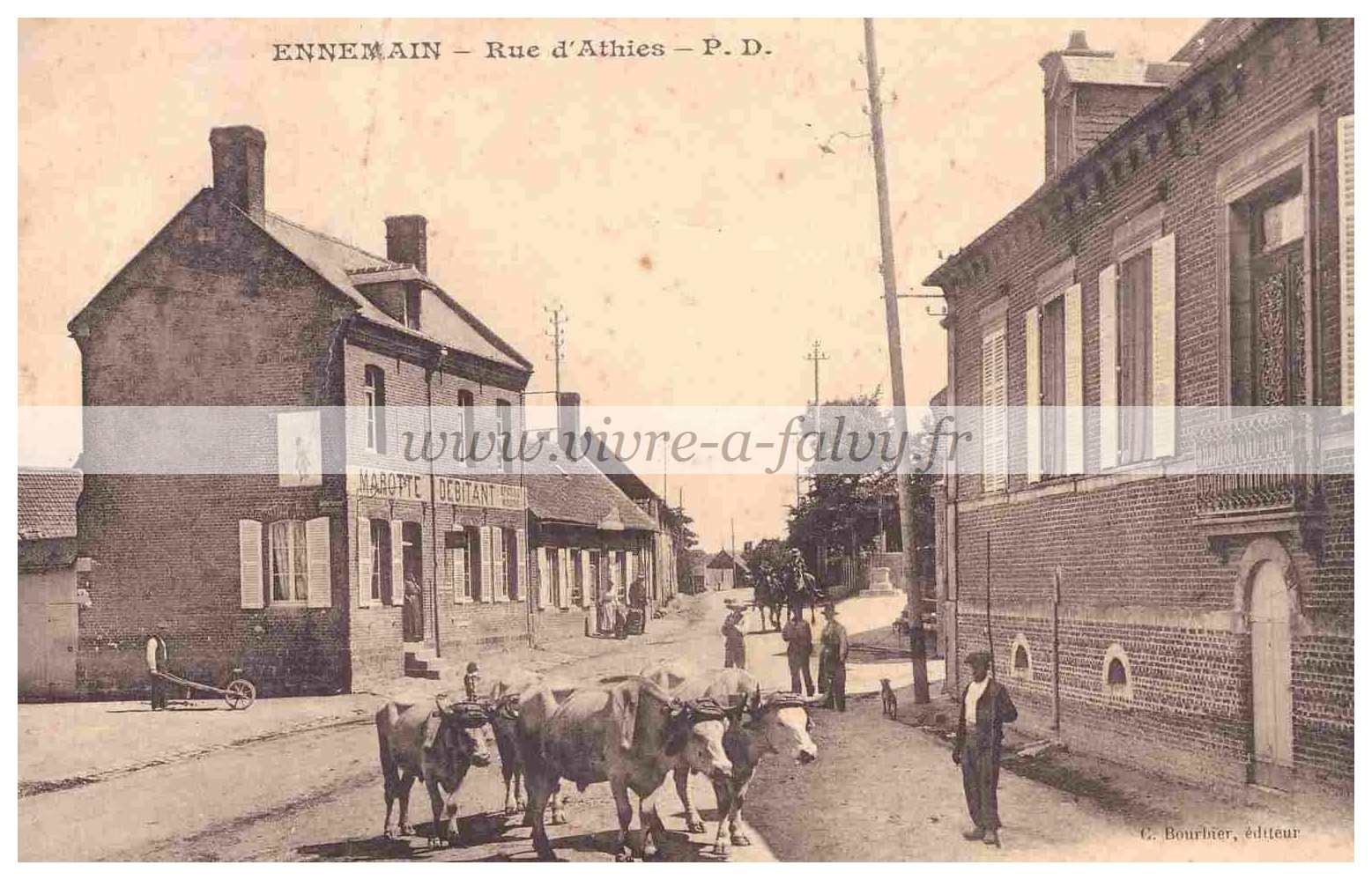 Ennemain - Rue d'Athies