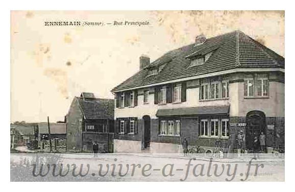 Ennemain - Rue Principale