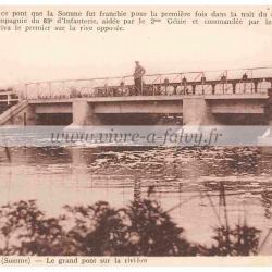 Epenanancourt - Le grand pont sur la rivière