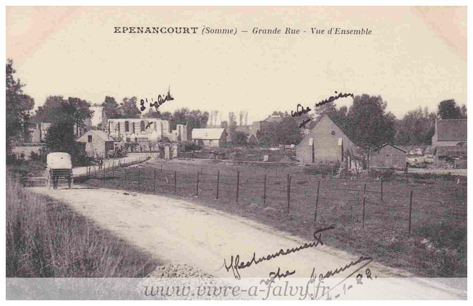Epenancourt - Grande Rue