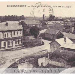 Epenancourt - Vue générale du bas du village