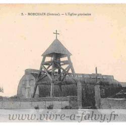 Morchain - L'Eglise provisoire