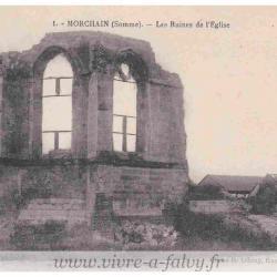 Morchain - Les Ruines de l'Eglise