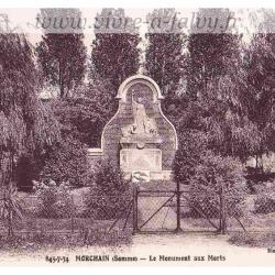 Morchain - Monument aux Morts 1934