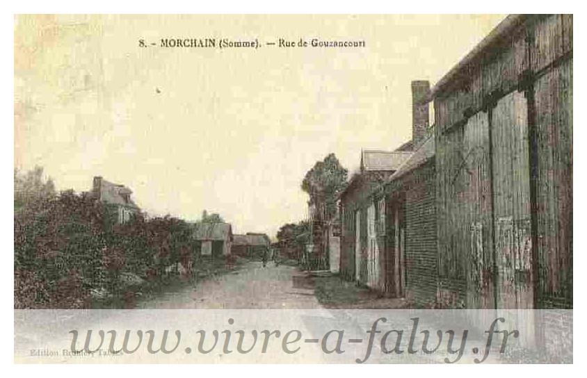 Morchain - Rue de Gouzancourt