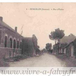 Morchain - Rue Enfer