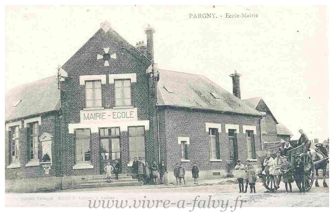 Pargny - Ecole Mairie