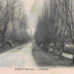 Entrée de Falvy