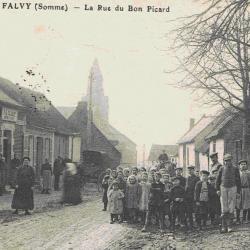 Ecoliers rue du trou picard