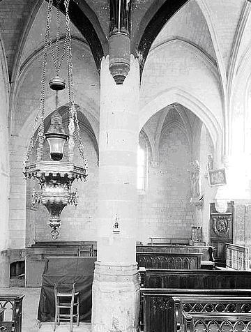 Chapelle nord intérieur