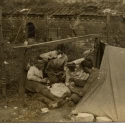 Campement soldat à Falvy