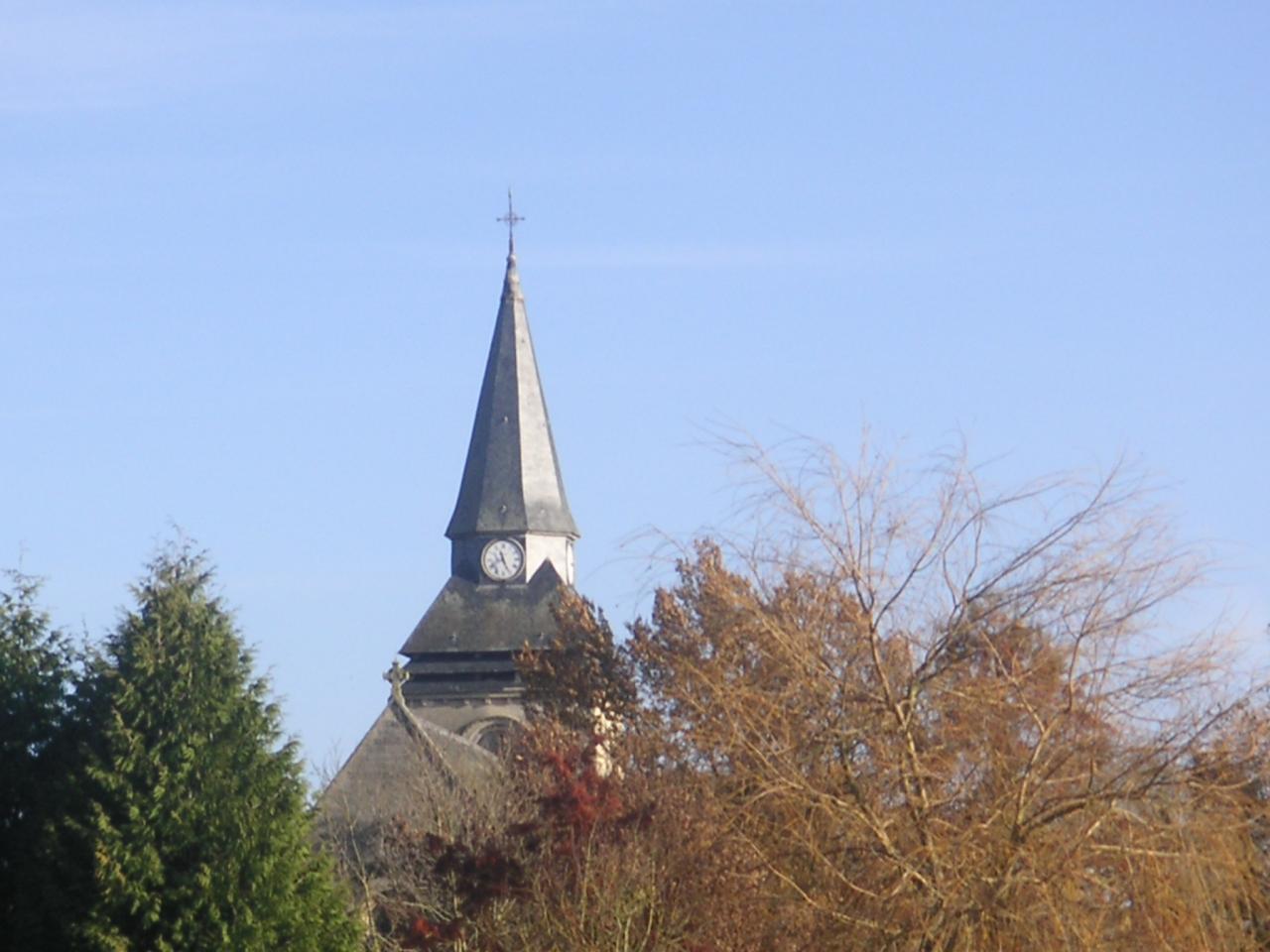 Le clocher de Sainte Benoîte
