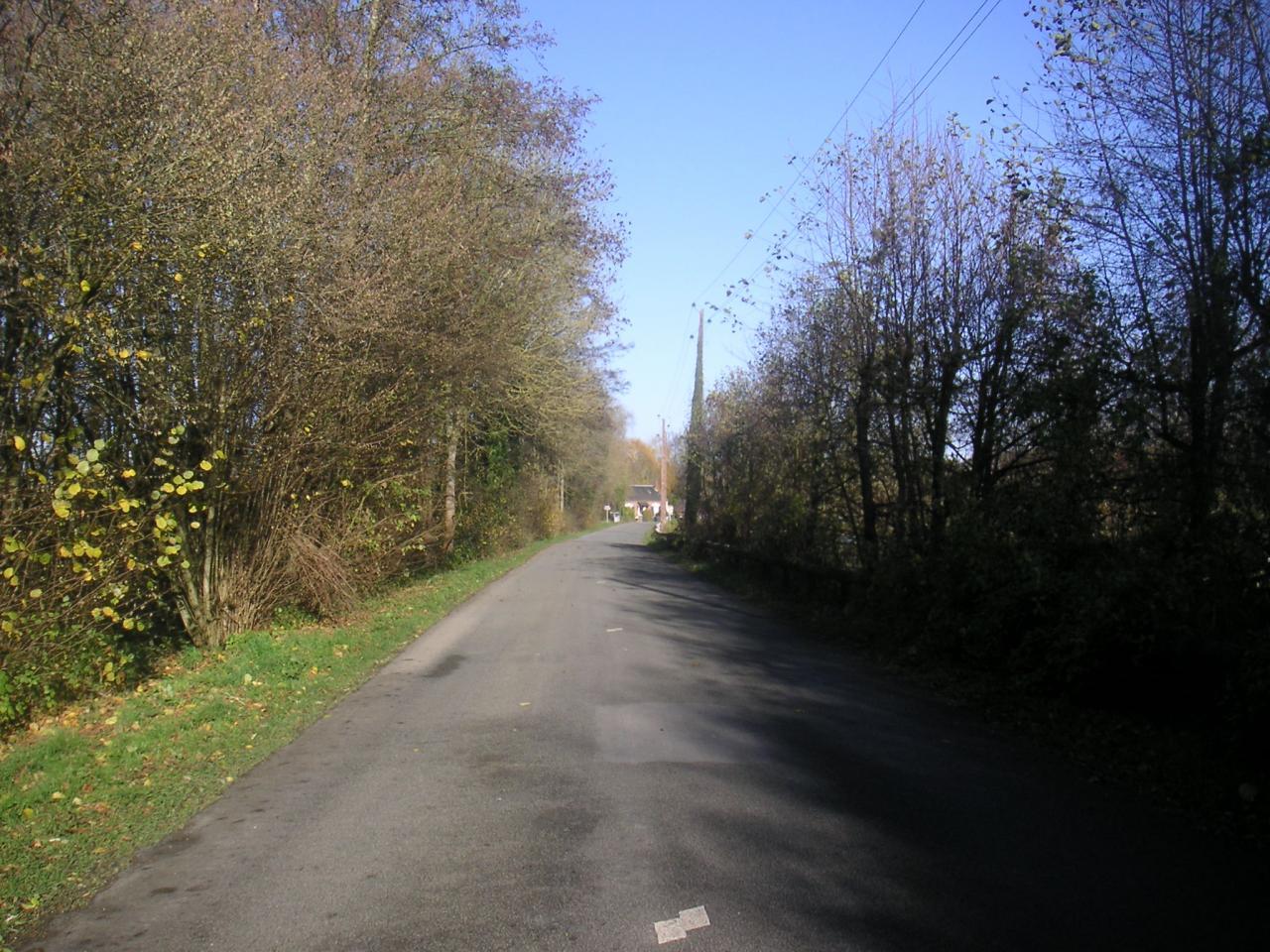 La départementale 103