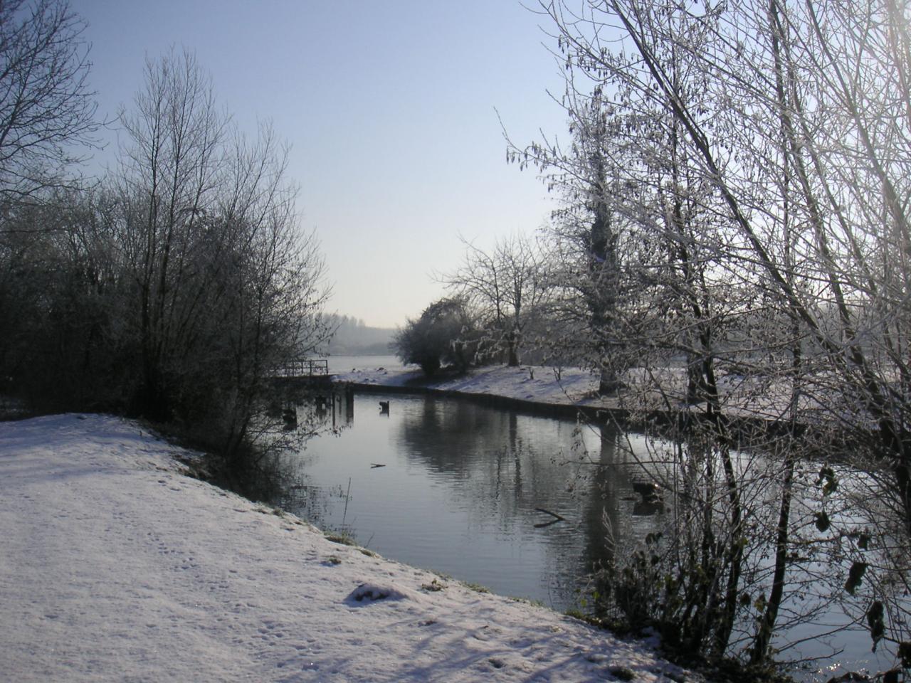 Petit cours d'eau qui longe la Somme