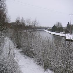 Chemin de halage Pargny