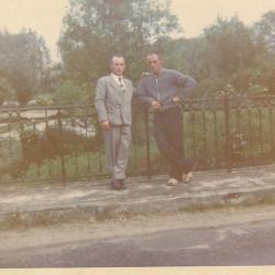 Fernand Ponchard à droite Père de Joseph