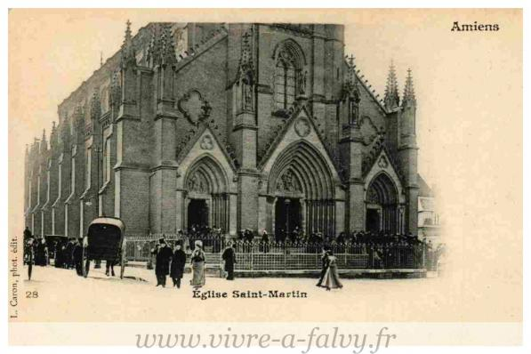 Amiens eglise saint martin