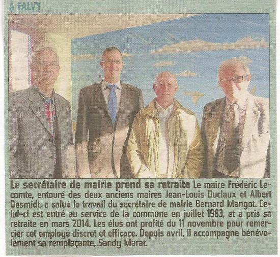 Courrier picard 15 11 2014