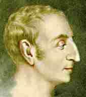 Quel philosophe et économiste célèbre vécut à Falvy ?