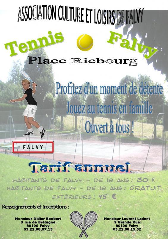 Tennis falvy 2016