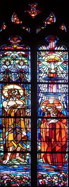 Le Baptême de Jésus par Saint-Jean Baptiste